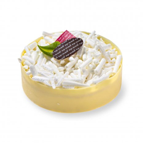 Witte chocolade taartje