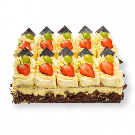 Witte Cremé taart