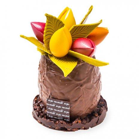 Chocolade tulpenpotje