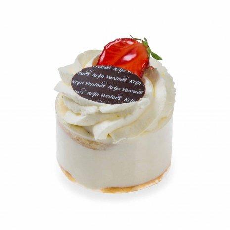 Slagroomcake gebak